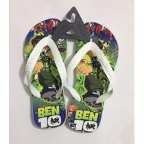 Chinelo & Sandálias Havaianas Personalizado - Ben 10