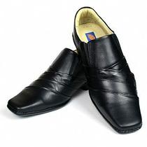 Sapato Masculino Casual Com Costura Lateral Couro Alcalay Lg