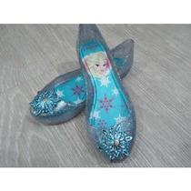 Sapatilha Elsa Frozen Infantil Sapato Sandalia Grendene Nova