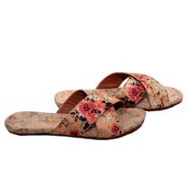 Rasteirinha Sandalia Birken Floral Original Lançamento 2016