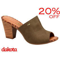20% Off Tamanco Dakota Salto Grosso Rato Z0541