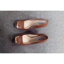 Sapato Jorge Alex Em Couro Marron Tamanho 36