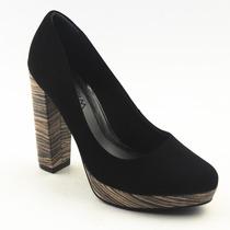 Sapato Social Feminino Scarpin Meia Pata Ramarim - 582889