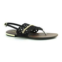 Sandália Rasteira Bialee - T601111 - Vizzent Calçados