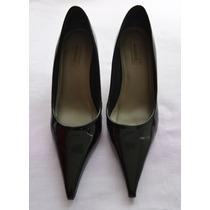 Sapato Feminino Social | Scarpin Verniz Preto Shoestock