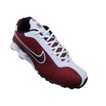 Tênis Nike Shox Turbo V Vinho E Branco Promoção
