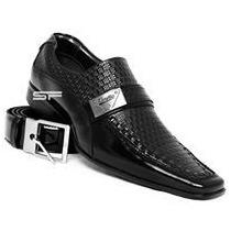 Sapato Social Masculino Couro Verniz Super Luxo/sapatofran