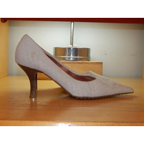 Sapato Scarpin Couro Cor Creme - Bottero - Tam 36