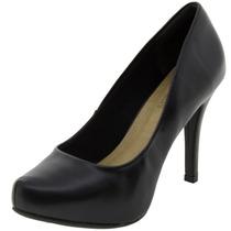 Sapato Feminino Salto Alto Preto - 50602857 Crysalis