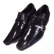 Sapato Social Couro Verniz Masculino - Loja Sapatocia