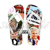 Sandálias Chinelo Havaianas Personalizadas 1d One Direction