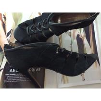 Fina Ankle Boot Ellus Deluxe Courocamurçapreto #melissa#schu