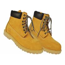 Bota Masculino Amarela, Tipo Yellow Boot, Coturno Amarelo