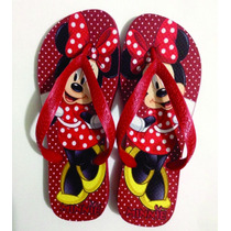 Chinelo Personalizado Havaianas Top - Minnie