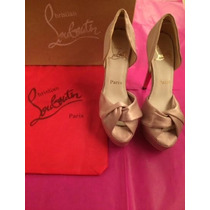 Sapato Christian Louboutin Golden Nude Tam. 37br