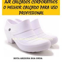 Sapato Bota Tamanco Crocs Segurança Soft Works Ocupacional