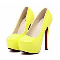 Pronta Entrega Sapato Importado Feminino - Summer Color