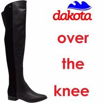 Bota Over The Knee Dakota Skinny Acima Do Joelho 62cm B9151