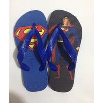 Chinelo & Sandálias Havaianas Personalizado - Super Homem
