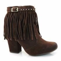 Bota Ankle Boots Feminino Dakota - B6682 + Frete Gratis