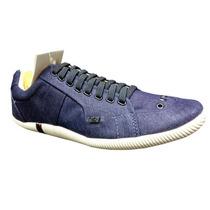 Sapatenis Osklen Masculino Elastico Azul Jeans - Lançamento