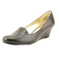 Anne Klein Axelia Mulheres Cunhas De Couro Sapatos De Saltos