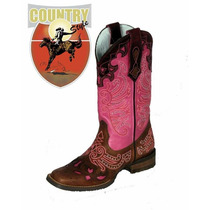 Bota Feminina Western Texana Goyazes 3226