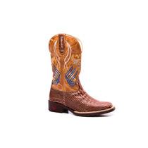 Bota Country Texana Masculina - Jacare- Botina-mafisa Boots