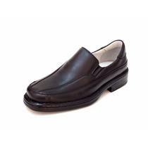 Sapato 100% Couro Ortopedico Antistress Super Confortavel