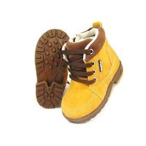 Botinha Coturno Infantil Yellow Boots Estilo Timberland