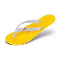 Sandália Kenner Summer Colors Amarelo/branco