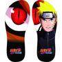 Chinelos Personalizados Naruto Desenhos Séries E Filmes