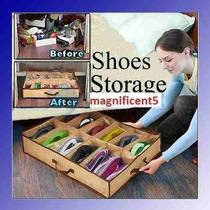 Sapateira Flexivel Organizadora De Sapatos Porta Brinquedos