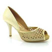 Peep Toe Feminino Vizzano - 1781437 - Vizzent Calçados