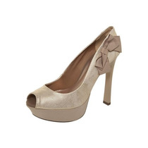 Sapato Peep Toe Pink Connection (37)