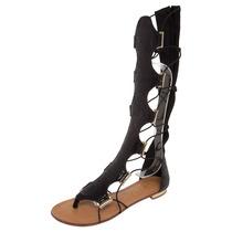 Rasteira Bottero Gladiadora Couro 240001 - Galluzzi Calçados