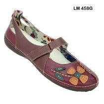 Sapato (sistema Comfort) Estilo Retro Em Couro Nr.35
