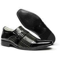 Sapato Social Masculino Ref F1201 Alcalay Legítimo Luxuoso