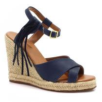 Sandália Zariff Shoes Anabela Espadrille Anabela | Zariff