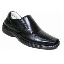 Sapato Masculino 400 Alcalay Relax Couro Legit. Ante Stress