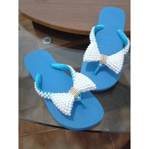 Havaianas Bordadas Customizadas