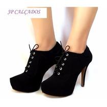 Ankle Boot Laccio Nero