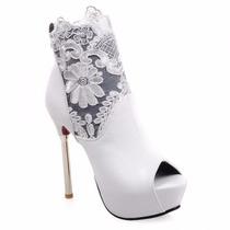 Sapatos Importados Femininos - Salto Alto Design Moderna!