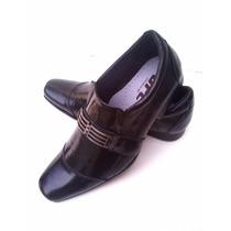 Sapato Social Masculino 100% Couro Legítimo