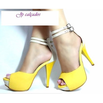 Sandalias Femininas Sapatos Scarpins Ankle Boot