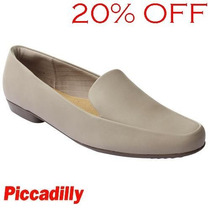20% Off Sapatilha Slipper Piccadilly 250102 - Cáqui