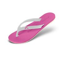 Sandália Kenner Summer Colors Rosa/branco