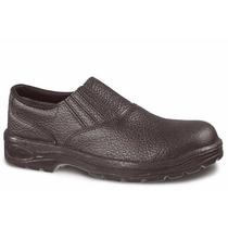 Sapato Segurança Monodensidade Elastico Com Bico Aço Epi