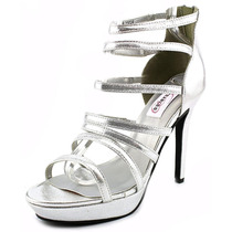 Dyeables Lola Synthetic Platform Sandal