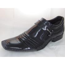 Sapato Masculino Couro Legítimo Verniz Mais Barato Do Ml